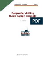 Deep Water Drilling Fluid Design Example