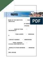 BUSINESS PLAN-SRINIVAS D, SRINIVAS_MYSORE