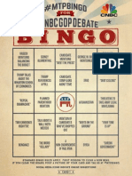 #MTPBingo for the #CNBCGOPDebate