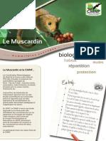 Plaquette Muscardin Cmnf 2015
