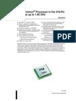 Intel® Celeron® Processor in the 478-Pin