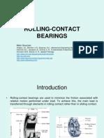 III Rolling Contact Bearings