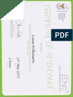 edmed certificate