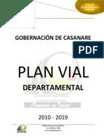 Plan Vial Departamento de Casanare 2010-2019