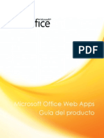 Microsoft Office Web Apps Product Guide
