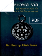 Giddens Anthony - La Tercera Via