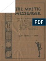 The Mystic Messenger, September 1935