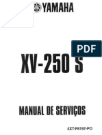 Manual de Servico Virago XV250