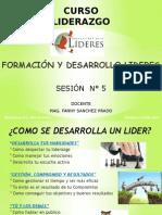 Sesion N 5 Formacion y Desarrollo de Liderez