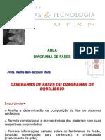 Aula 20_diagramas de Fases
