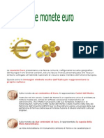 Le Monete Euro