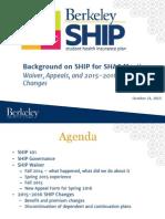 SHAC Ship Intro - Oct 2015