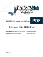 D15 PHILMINAQ Outputs and Recommendations