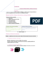 Concepto de Medio Ambiente y Dinámica de Sistemas - CTMA - Selectiv.