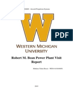 AE4660 Aircraft Propulsion Systems Power Plant Report