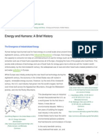 Healing Earth - Energy and Humans a Brief History - 2015-09-15