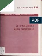 Concrete Strength 932 Le Wh