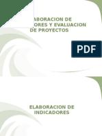 Elaboracion de Indicadores y Seguimiento de Proyectos