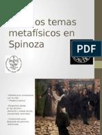Algunos Temas Metafísicos en Spinoza