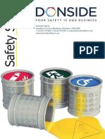 Donside Safety Signs Brochure
