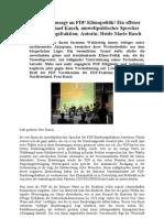 Liberale Kampfansage an FDP