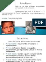 Tema 10 Oft. Estrabismo