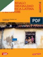 El Escandalo de La Desigualdad en America Latina y El Caribe