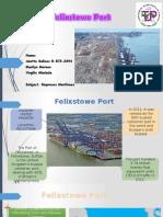 Felixstown Port