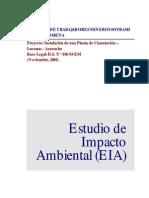 Estudio de Impacto Ambiental de Santa Filomena Ayacucho