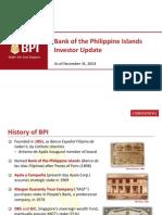 BPI Investor Update FY2014