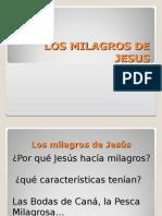 Los Milagros de Jesus
