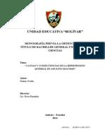 Monografía sobre las Causas y Consecuencias de La Hipertensión Arterial