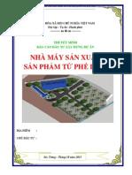 Lap Du an San Xuat San Pham Tu Phe Lieu