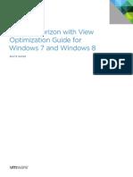 VMware View Optimization Guide Windows7