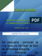 Aspectos Legales Pymes