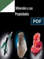 Propiedades de Los Minerales (Raya) y Minerales Nativos
