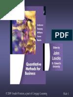 quantitative method for business