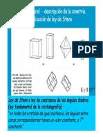 Simetría Cristalográfica