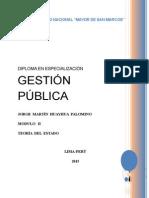 Modulo II- Gestión Pública (Teoria Del Estado)