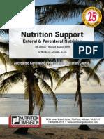 Nutrition Support Enteral & Parenteral Nutrition