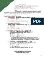 Tema 1 Apertura de Empresas Contabilidad 1