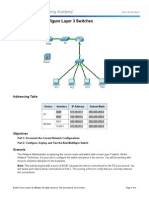 5.3.3.5 Packet Tracer - Configure Layer 3 Switches Instructions