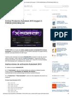 239112105 Activar Productos Autodesk 2015 Keygen X ForCE 32 64 Bits Full PROGRAMAS WEB FULL