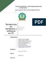 Tendencias en Hardware y Software en PC