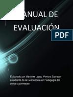 Manual de Evaluación