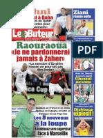 LE BUTEUR PDF du 22/03/2010