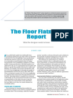 Concrete International - The Floor Flatness Report