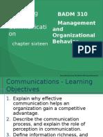 BADM310 Session 2-2 Effective Communication Ch 16 Slides (1)