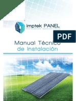 Manual Imptek Panel p01