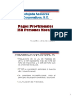 Pagos Provisionales PM 2015